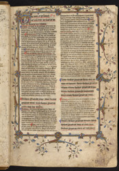 Commentaries on Matthew and Mark, in English f.2r
